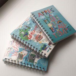 NWT 3 Ecojot Journal Notebooks Bundle - 5x7 in